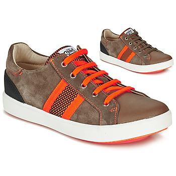 Pantofi Băieți Pantofi sport Casual GBB ANTENO Maro / Portocaliu