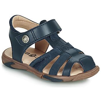 Pantofi Băieți Sandale  GBB LUCA Albastru