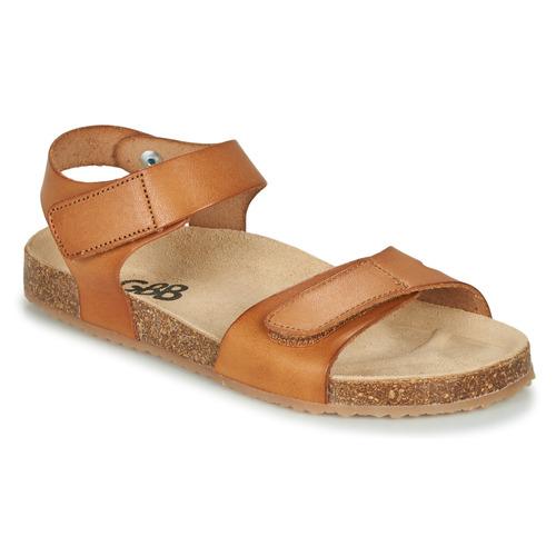 Pantofi Băieți Sandale  GBB KIPILO Coniac