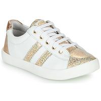 Pantofi Fete Pantofi sport Casual GBB MAPLUE Alb / Auriu