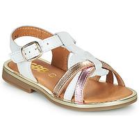 Pantofi Fete Sandale  GBB EGEA Alb