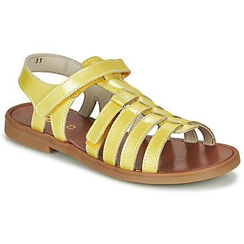 Pantofi Fete Sandale  GBB KATAGAMI Galben