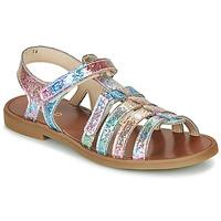 Pantofi Fete Sandale  GBB KATAGAMI Roz / Multicolor