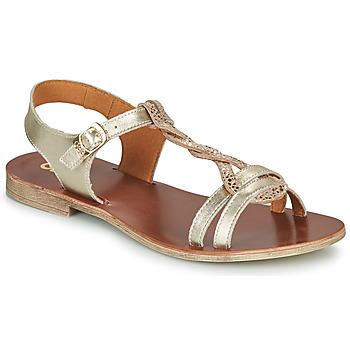 Pantofi Fete Sandale  GBB EUGENA Auriu