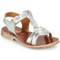 Pantofi Fete Sandale  GBB EUGENA Argintiu