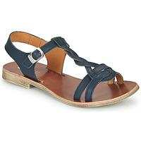 Pantofi Fete Sandale  GBB EUGENA Albastru