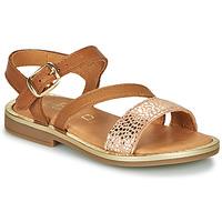 Pantofi Fete Sandale  GBB FANA Coniac