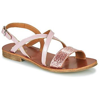Pantofi Fete Sandale  GBB FAVOLA Roz