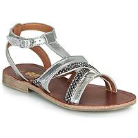 Pantofi Fete Sandale  GBB JULIA Argintiu