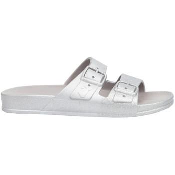 Pantofi Femei Papuci de vară Cacatoès Salvador Argintiu