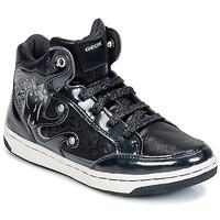 Pantofi Fete Pantofi sport stil gheata Geox CREAMY A Negru