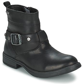 Pantofi Fete Cizme casual Geox SOFIA B Negru