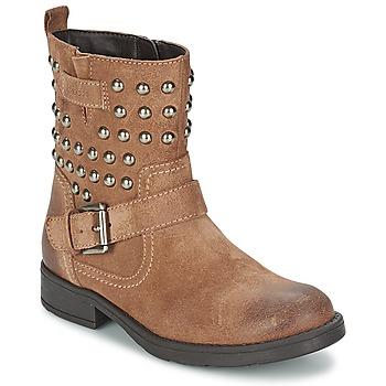 Pantofi Fete Cizme casual Geox SOFIA C Maro