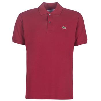 Îmbracaminte Bărbați Tricou Polo mânecă scurtă Lacoste POLO L12 12 REGULAR Roșu-bordeaux