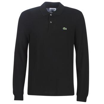 Îmbracaminte Bărbați Tricou Polo mânecă scurtă Lacoste L1312 Negru