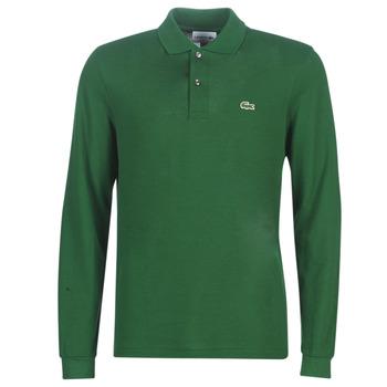 Îmbracaminte Bărbați Tricou Polo manecă lungă Lacoste L1312 Verde