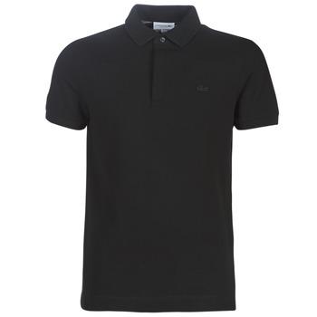 Îmbracaminte Bărbați Tricou Polo mânecă scurtă Lacoste PARIS POLO REGULAR Negru