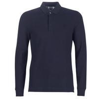 Îmbracaminte Bărbați Tricou Polo manecă lungă Lacoste PH2481 REGULAR Bleumarin