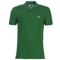 Îmbracaminte Bărbați Tricou Polo mânecă scurtă Lacoste PH4012 SLIM Verde