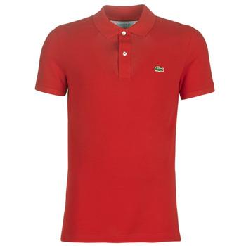 Îmbracaminte Bărbați Tricou Polo mânecă scurtă Lacoste PH4012 SLIM Roșu