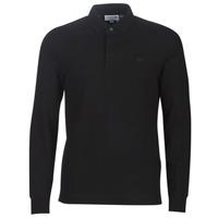 Îmbracaminte Bărbați Tricou Polo manecă lungă Lacoste PH2481 REGULAR Negru