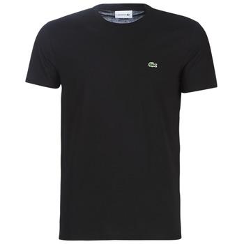 Îmbracaminte Bărbați Tricouri mânecă scurtă Lacoste TH6709 Negru