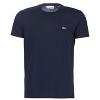 Îmbracaminte Bărbați Tricouri mânecă scurtă Lacoste TH6709 Bleumarin