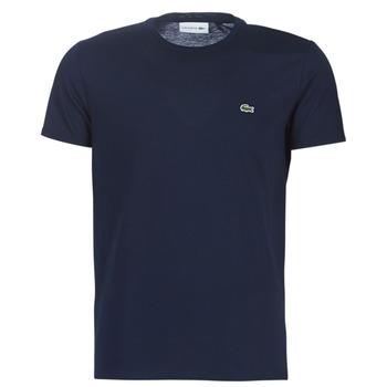 Îmbracaminte Bărbați Tricouri mânecă scurtă Lacoste TH6709 Albastru