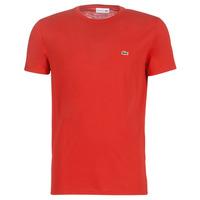 Îmbracaminte Bărbați Tricouri mânecă scurtă Lacoste TH6709 Roșu