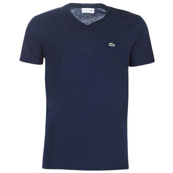 Îmbracaminte Bărbați Tricouri mânecă scurtă Lacoste TH6710 Albastru