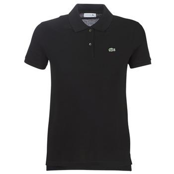 Îmbracaminte Femei Tricou Polo mânecă scurtă Lacoste PF7839 Negru
