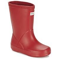 Pantofi Copii Cizme de cauciuc Hunter KIDS FIRST CLASSIC Roșu