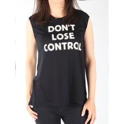 Îmbracaminte Femei Maiouri și Tricouri fără mânecă Lee T-shirt  Muscle Tank Black L42CPB01 black