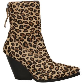 Pantofi Femei Botine Poesie Veneziane CAVALLINO SAFARI leopa-leopardo