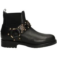 Pantofi Femei Botine Albano RIO neror-nero-oro
