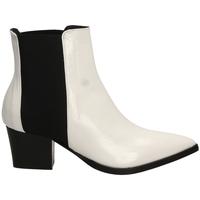 Pantofi Femei Botine Lemaré HARRODS ELASTICO biane-bianco-nero