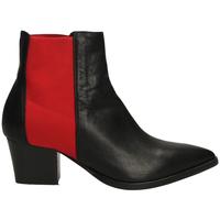 Pantofi Femei Botine Lemaré TEXAS CON ELASTICO neros-nero-rosso