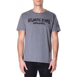 Îmbracaminte Bărbați Tricouri mânecă scurtă Atlantic Star Apparel T-SHIRT col-2-grigio-chiaro