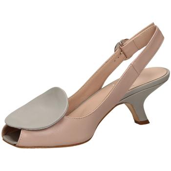 Pantofi Femei Sandale  Mivida NAPPA argen-argento