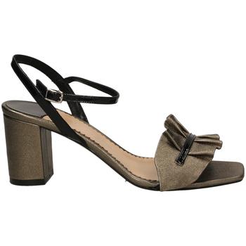 Pantofi Femei Sandale  The Seller BERG.WASH cfune-grigio-nero