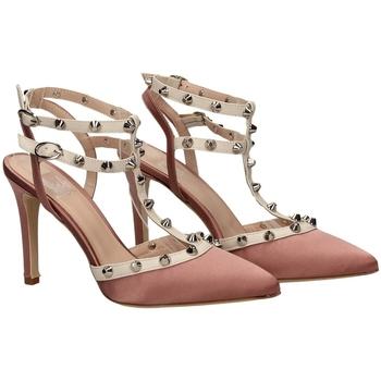 Pantofi Femei Sandale  Mivida RASO E NAPPA milk-rosa-bianco