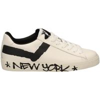 Pantofi Bărbați Pantofi sport Casual Pony TOP STAR OX f1-bianco-nero