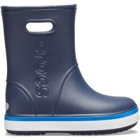 Pantofi Copii Cizme de cauciuc Crocs Crocs™ Crocband Rain Boot Kid's Navy/Bright Cobalt