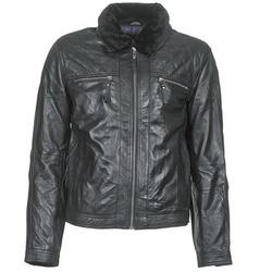 Îmbracaminte Bărbați Jachete din piele și material sintetic Teddy Smith BLEATHER Negru