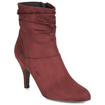 Pantofi Femei Botine André LINE Roșu-bordeaux