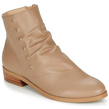 Pantofi Femei Ghete André ELIPSE Camel