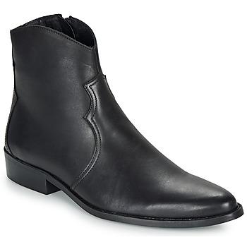 Pantofi Bărbați Ghete André WESTERN Negru