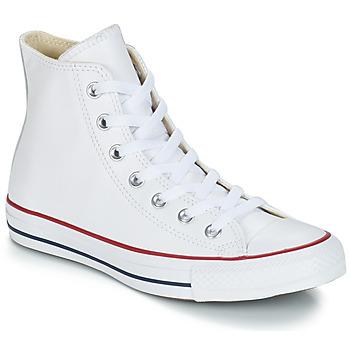 Pantofi Pantofi sport stil gheata Converse Chuck Taylor All Star CORE LEATHER HI Alb