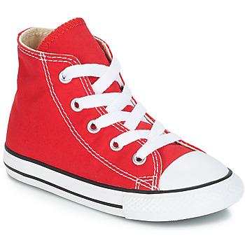 Pantofi Copii Pantofi sport stil gheata Converse CHUCK TAYLOR ALL STAR CORE HI Roșu
