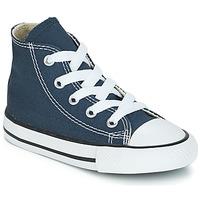 Pantofi Copii Pantofi sport stil gheata Converse CHUCK TAYLOR ALL STAR CORE HI Albastru